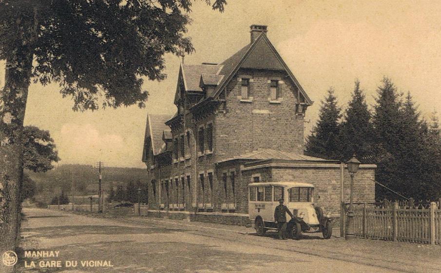 Manhay station