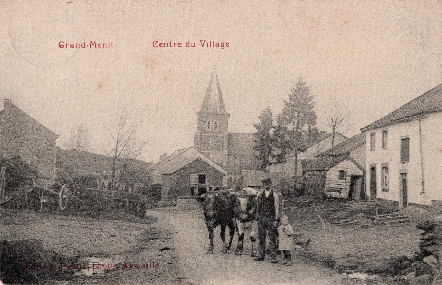 Grand rue, Grandmenil
